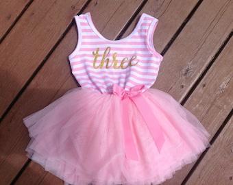 Third Birthday Dress