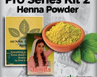Pro Series Kit 2 (Henna Powder)