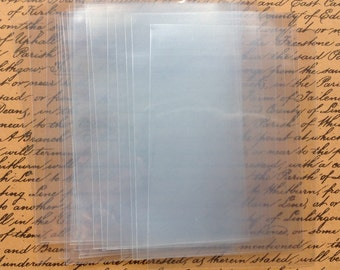 25 ATC Clear Storage Sleeves - Wallets - Bags - Swap - Store - Protect - Pocket Letters