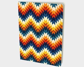 Grid Journal || Bullet Journal || Dot Grid Journal || Dot Grid Notebook || Bujo || Graph Notebook || Custom Journal || Geometric Design