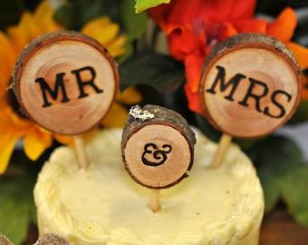 wedding cake topper, mr and mrs wedding cake topper, cake topper, rustic cake topper, wedding cake toppers, Rustic Wedding Cake Topper, deco