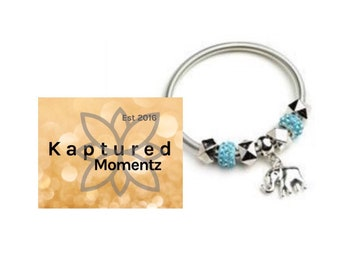 Elephant Bracelet-READY TO SHIP!