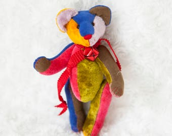 Logan ooak artist bekkiebears teddy