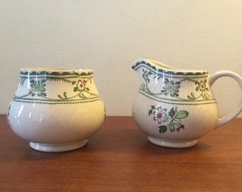 Creamer and Sugar Bowl set