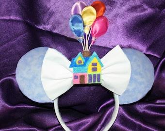 Balloon House Mouse Ears Headband