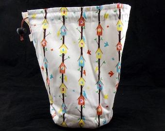 R/M/L/S/W Birdhouse project bag