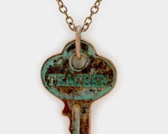 Teacher ( inspired keys necklace