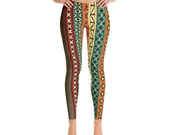 African Print Leggings, Woman's Fashion, High Quality Leggings