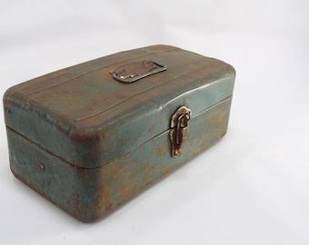 Metal Tackle box, Storage box, Union Steel Tool Chest