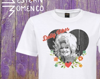 Dolly Parton vibes tee