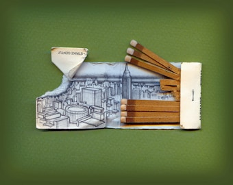 Drawing on Matchbook