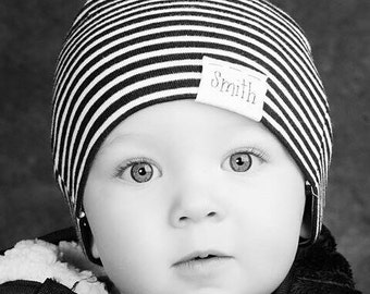 Name hat, KNOTS, baby hat, baby name hat, personalized hat, personalized beanie, toddler beanie, knot hat, newborn hat, newborn photo prop