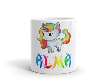 Alma Unicorn Mug