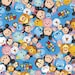 Disney Fabric- Tsum Tsum Fabric Blue Background Fabric From Springs Creative