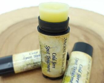 Cold Sore Spot Treatment, Cold Sore Remedy, Cold Sore Balm, Lip Sore and Blister Balm