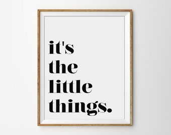 Happy Quote Poster, Happy Office Print, Black and White Art, Motivational Poster, Inspirational Print, Modern Office Poster, Typography Art