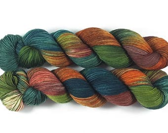 Dragon Stone Maia, 100% merino Superwash-400 m/100g-hand dyed yarn
