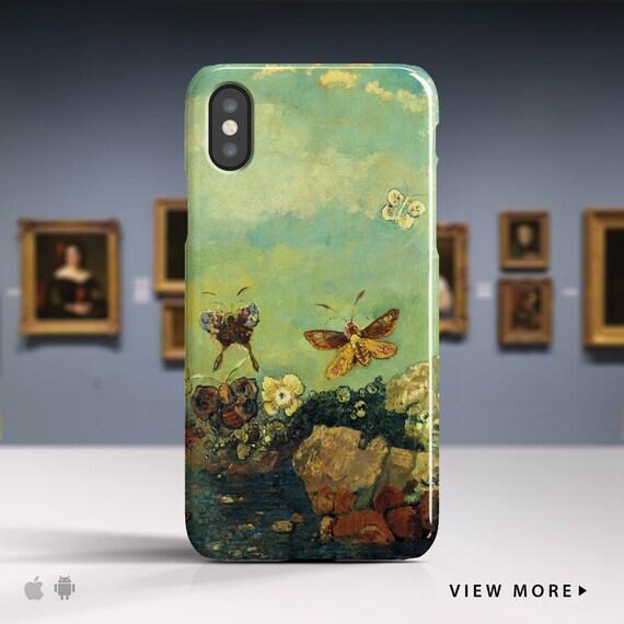 Odilon Redon Butterflies iPhone 7 case iPhone 8
