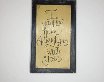 ADVENTURE SEEKER handwritten