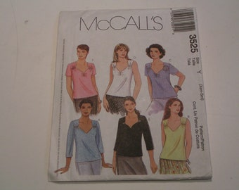 McCalls Pattern 3525 Miss Top