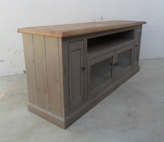 Lovely TV Stand, Entertainment Center, Reclaimed Wood, Media Console, Handmade,  Rustic, Console Cabinet