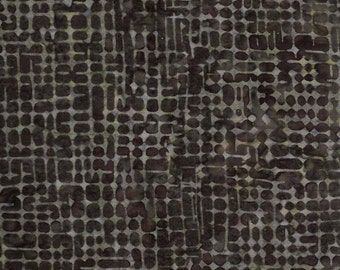Timeless Treasures Tonga Batik fabric in Chocolate