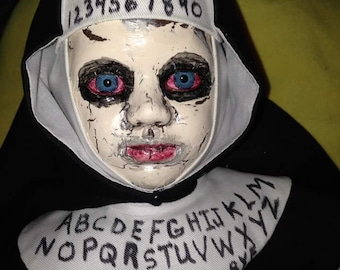 18 INCH Creepy Nun Doll