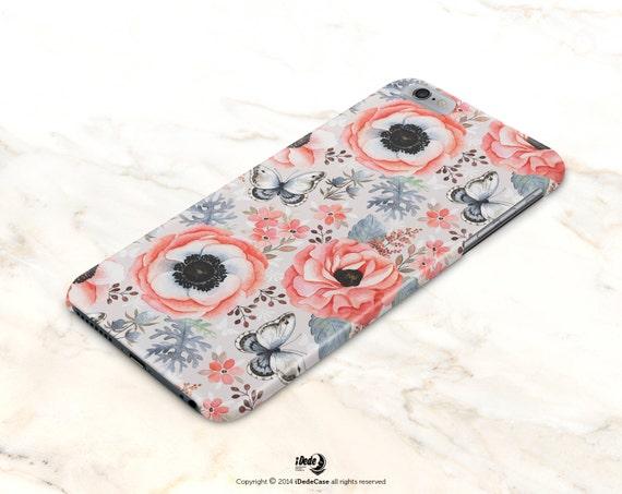 Vintage iPhone 7 case iPhone 6 case, Floral LG G4 case, Floral LG G3 case Samsung Galaxy S5 case, iPhone 6s case Samsung Galaxy S6 case 443