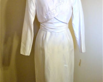 NWT Vintage Alfred Angelo Bridallure Wedding or Formal Dress - Size 6 - Union Made