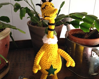 Star-bellied Amigurumi - MADE to ORDER- book character, children's books