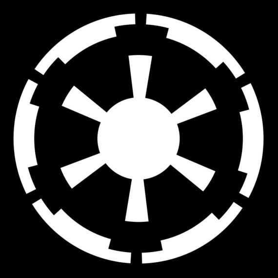 Galactic Empire Logo Vinyl