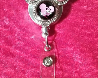 Minnie Mouse Badge Holder