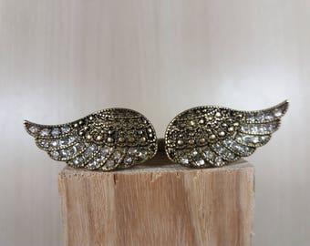 Angel Wings Ring, boho ring, statement ring, gothic ring, vintage big ring