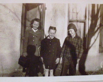 Vintage Photo of Three Children