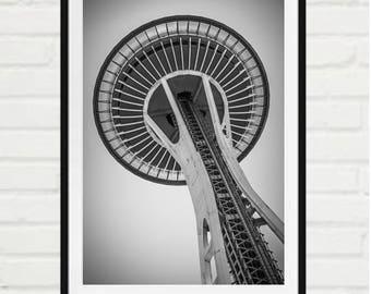 Space Needle, Seattle, Washington - signed print