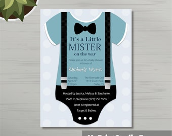 Onesie invitation | Etsy