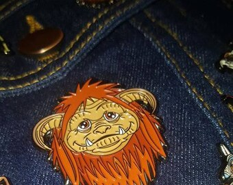 Ludo Soft Enamel Pin badge - The ideal Fwiend for any Labyrinth fan