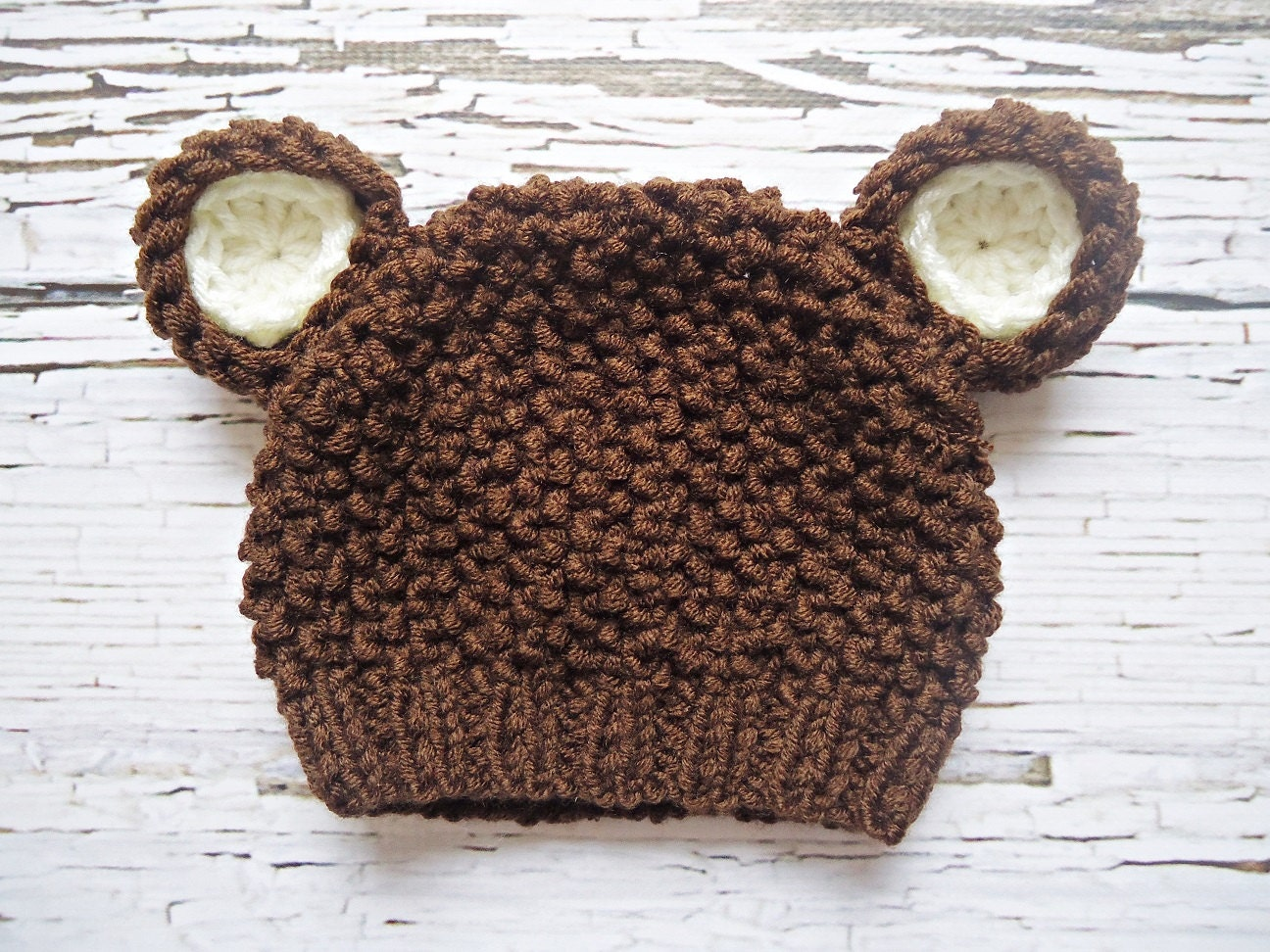 how to make a crochet teddy bear hat