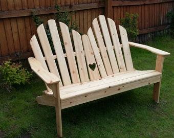 Adirondack Love Seat