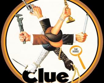 Clue The Movie Vintage Image T-shirt