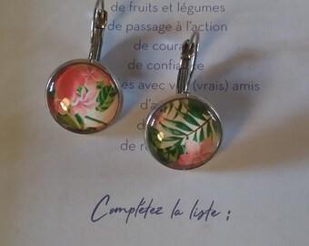 Earrings 'flowers'