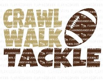 Crawl walk tackle svg, football baby svg, football boy svg, svg football baby, tackle svg, baby football svg, football baby dxf