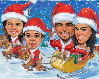 Christmas Caricatures Gifts