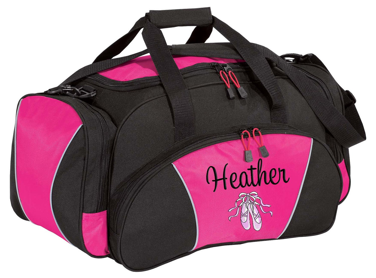 Greatest Personalized Duffle Bag Dance Ballet Competition Monogrammed BP44