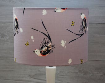 Handmade Lampshade Charley Harper Scissortailed Fly Catcher