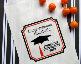 Graduation Candy Bags, Graduation Party, graduation Favor bags, graduation Candy Buffet bags,  Sweets, Treat bags