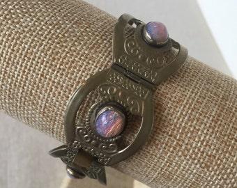 Sale Vintage Sterling Opal Bracelet