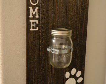 Personalized Leash and Key Holder