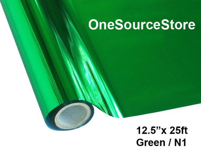 "HTV Textile Foil* / 12.5 ""x 25 ft / Green / N1"