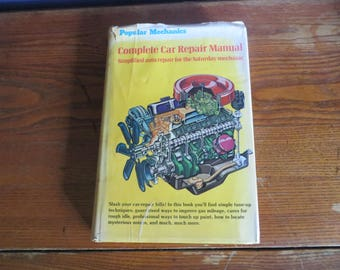 1975 popular mechanics complete car repair manual